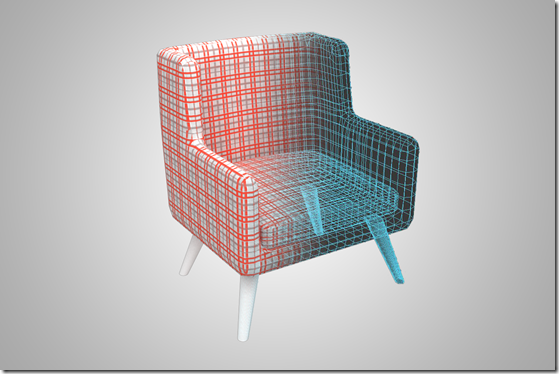 Modern chair wi